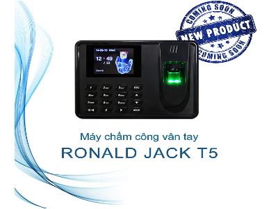 Máy chấm công vân tay Ronald Jack T5