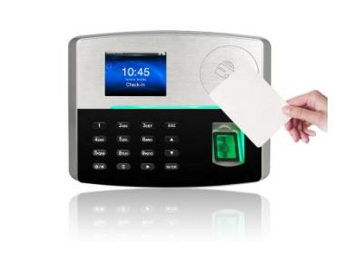 Máy chấm công vân tay + thẻ cảm ứng Ronald Jack S800