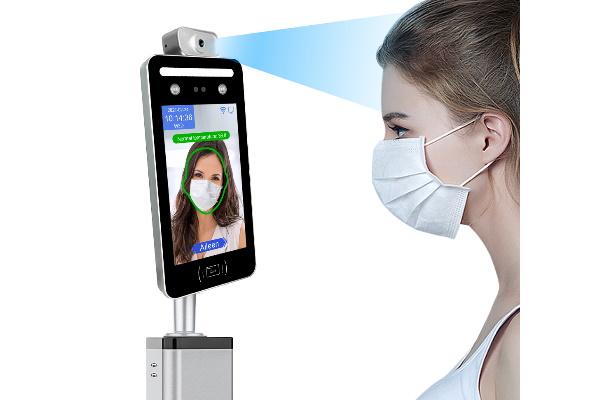 Máy chấm công khuôn mặt kết hợp đo thân nhiệt AI08T