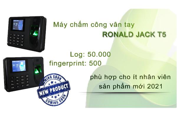 may cham cong van tay ronald jack t5